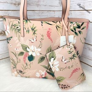 Kate spade arch place botanical garden  tote new